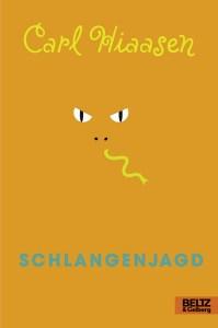 Carl Hiaasen, Schlangenjagd Cover