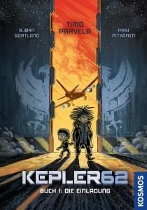 Bjorn Sortland, Timo Parvela, Pasi Pitkänen, Kepler62 Cover