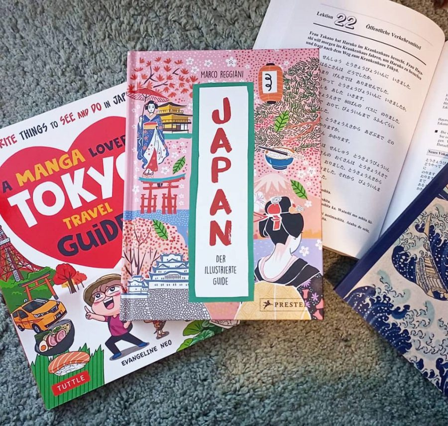 Illustrierte Travel-Guides für Japan