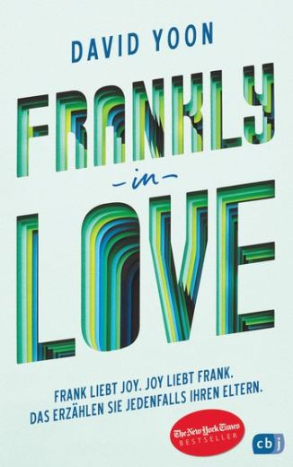 David Yoon, Frankly in Love Cover