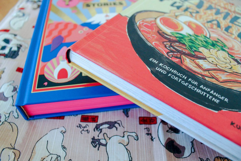 Kochbücher zum Thema Japan
