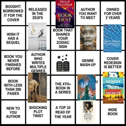 NovelKnight Beat the Backlist Bingo