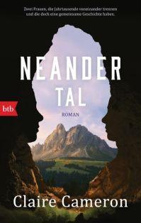 Claire Cameron, Neandertal Cover
