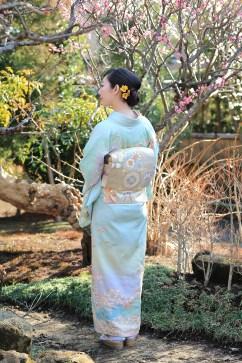 鎌倉花のん 絞り 訪問着