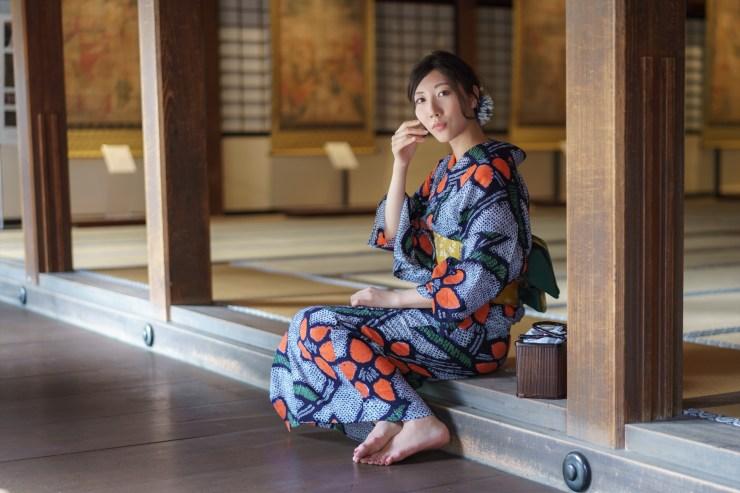 鎌倉で浴衣の夏散策