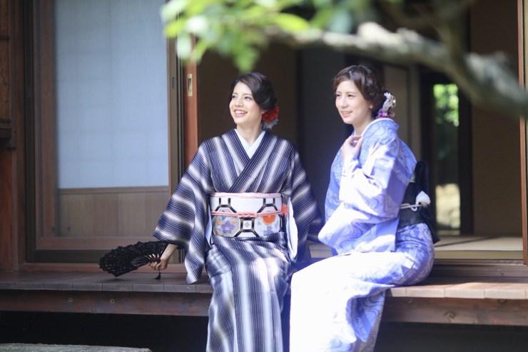 鎌倉花のん 夏の着物