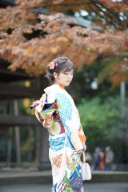 鎌倉 振袖 写真