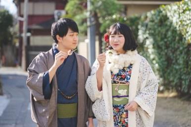 鎌倉着物レンタル花のん 記念撮影