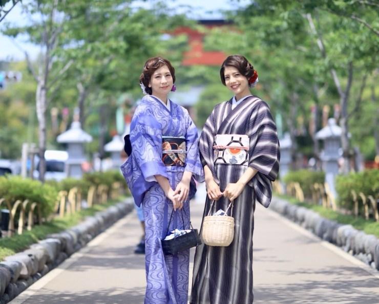 鎌倉 夏着物