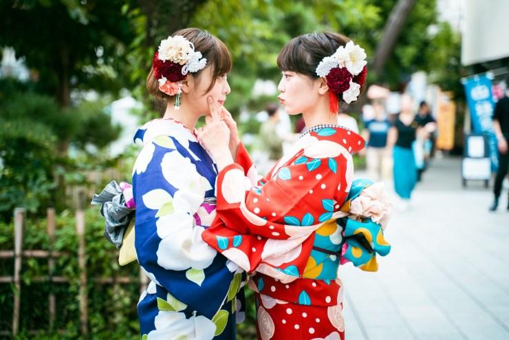 鎌倉 着物レンタル 花のん 春の着物コーデ