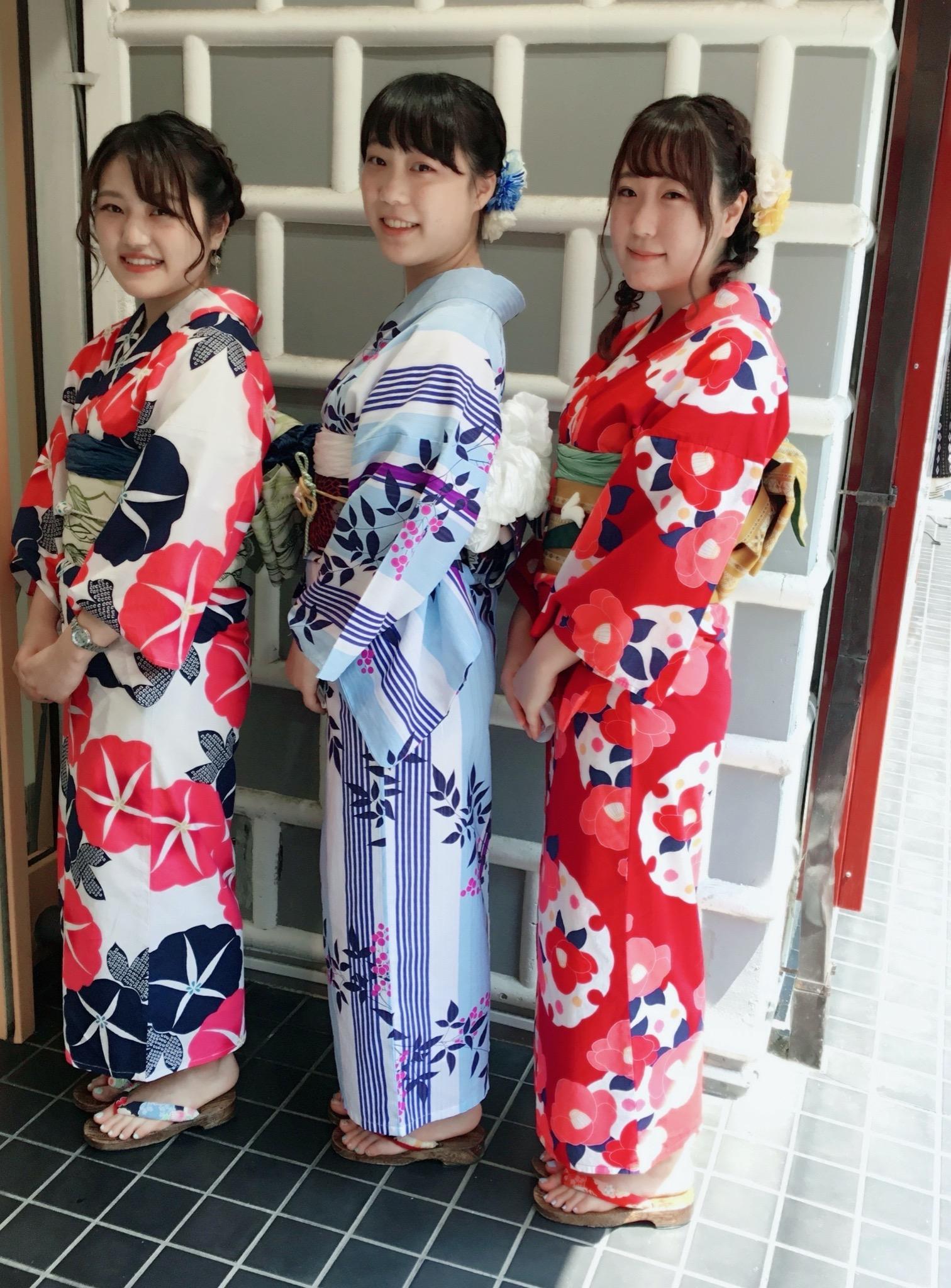 鎌倉花のん・夏着物・浴衣