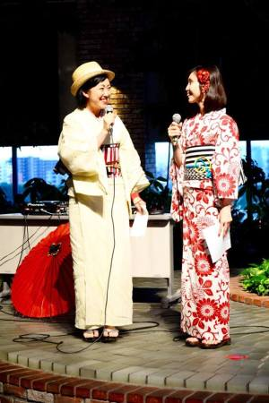 desfike de Yukata en Hashimoto 2017