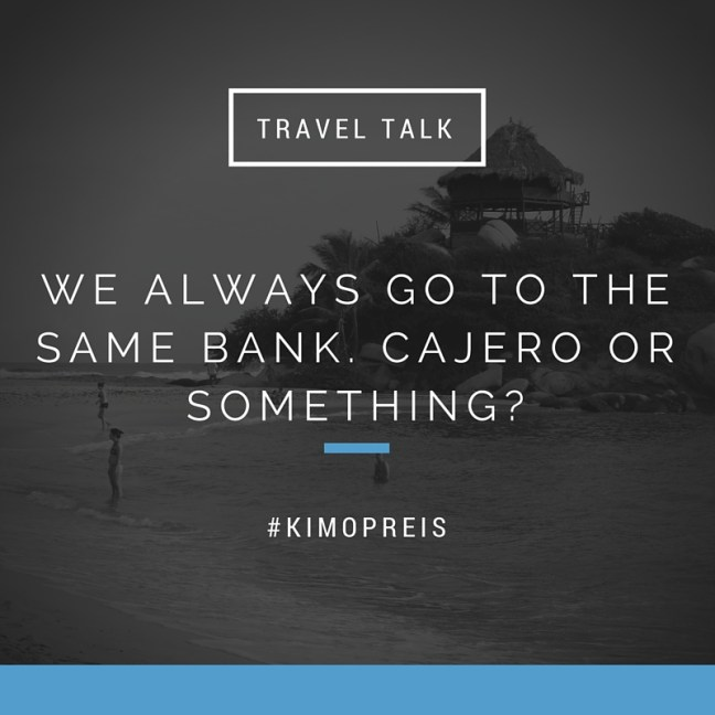 travel talk pinnen bank quote