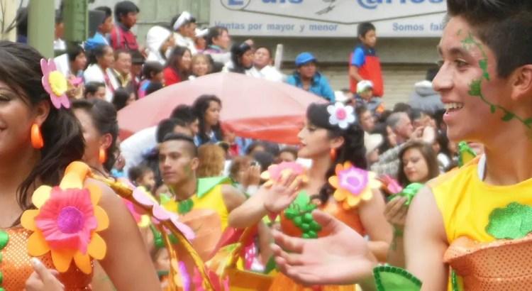 Carnaval in Ambato, Ecuador