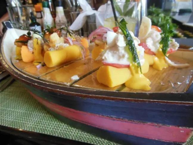 Causa bij restaurant La Mar, Lima