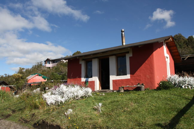 Slaapzaal van Secret Garden Cotopaxi