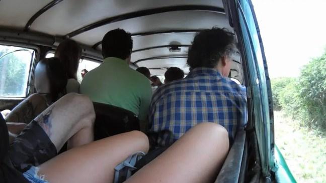 Opgepropt Cuba auto colectivo