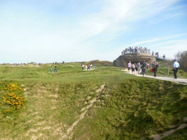 kraters Pointe du Hoc