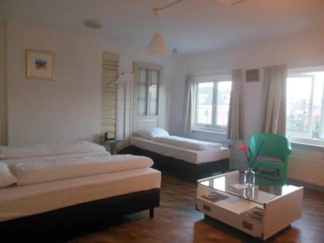 Slaapkamer in KingKool Hampton