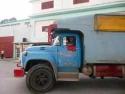 Vrachtwagenchauffeur in Holguín
