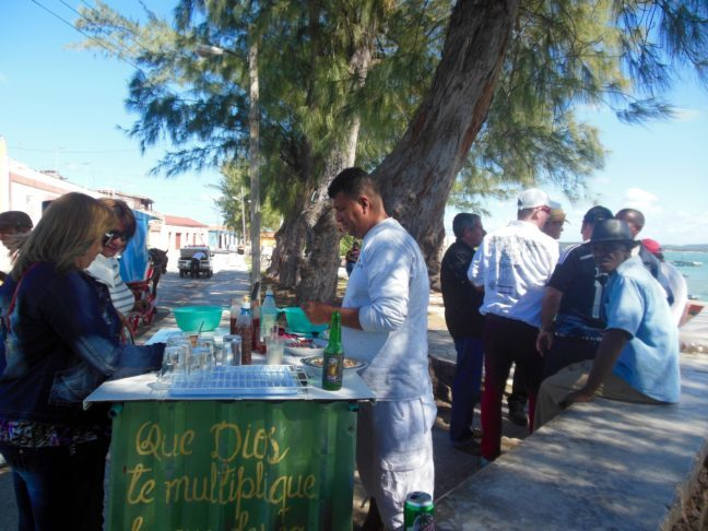 Populaire spot in Gibara