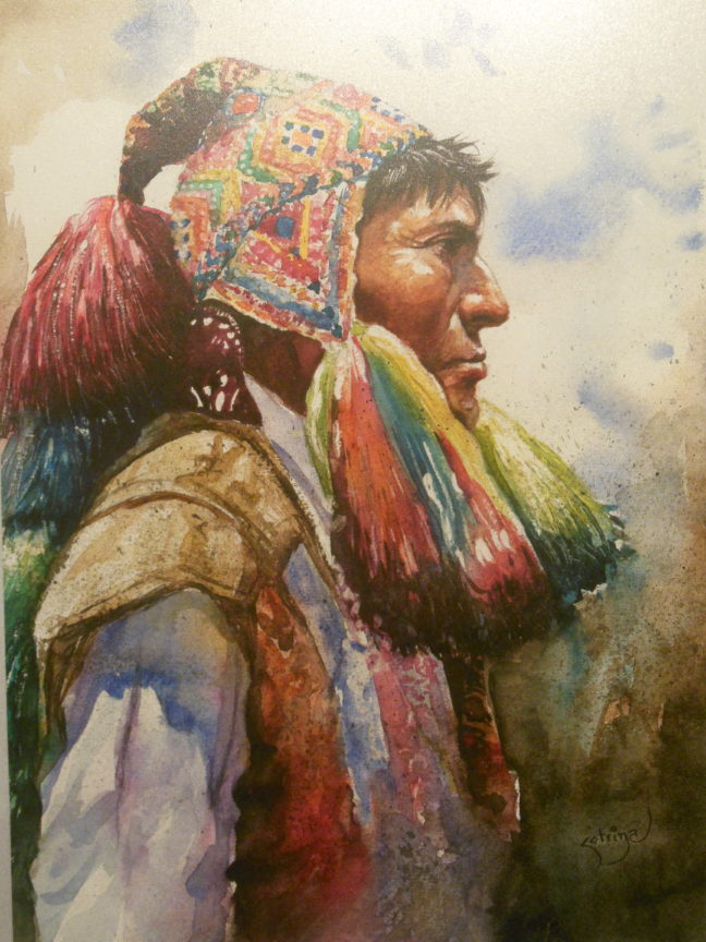 Museo Quijote schilderij