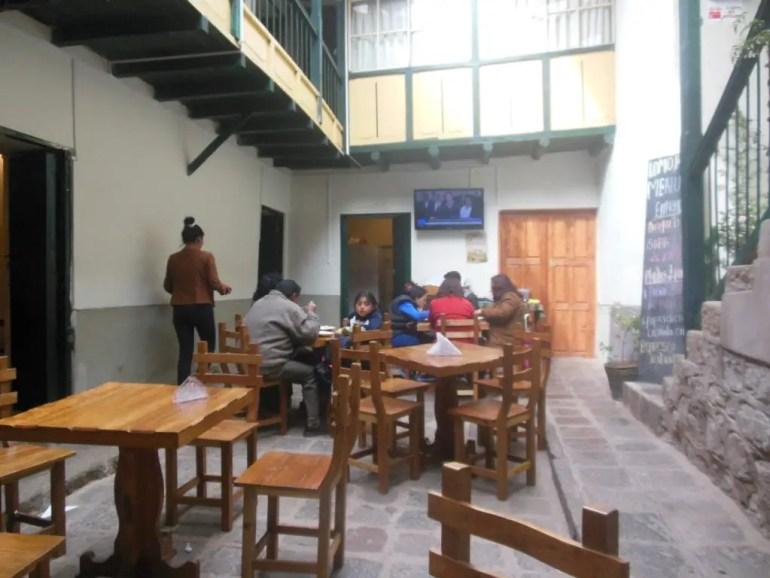 Lunchplek Pampa de Castillo Cusco