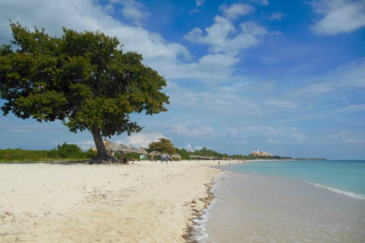 Playa Ancon bij Trinidad