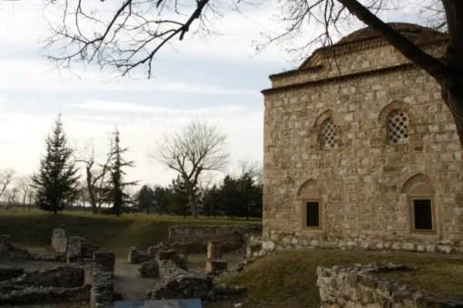 Binnen de muren van het fort staan nog verschillende gebouwen. Dit pand heeft een tijdje dienst gedaan als bibliotheek.