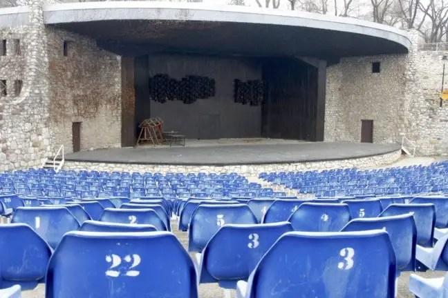 Het openluchttheater van Niš.