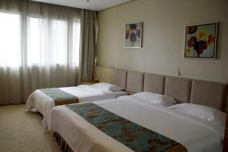 Hotelkamer van het HM Yelin Hotel in Xiamen