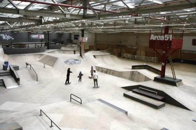 Indoor skate- en BMX-baan op Strijp-S