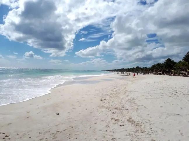 Strand van Tulum
