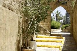 Mooi doorkijkje in Old Jaffa