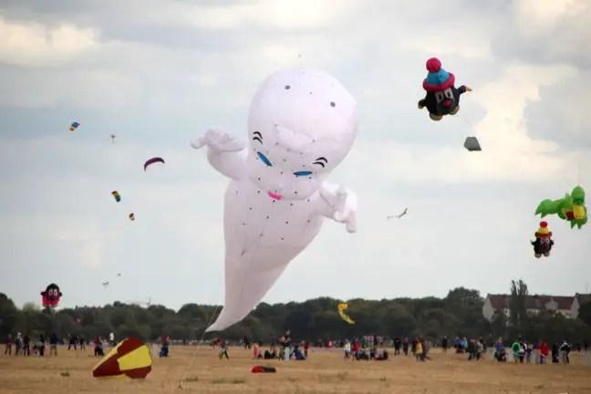 Casper het spookje als vlieger