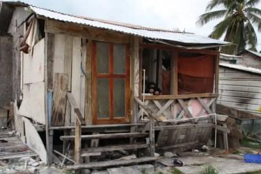 De schade die door orkanen ontstaat is duidelijk zichtbaar in Belize.