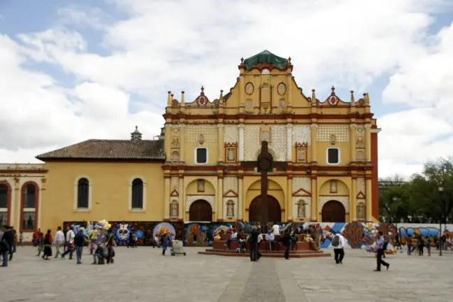 Plaza de la Paz, het startpunt van de Free Walking Tour.