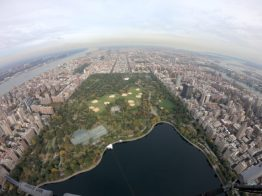 Central Park vanuit de lucht