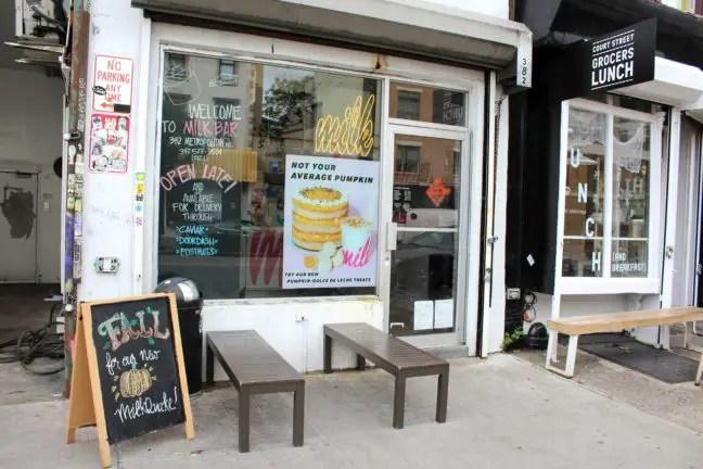 Milk Bar pastry shop in Williamsburg