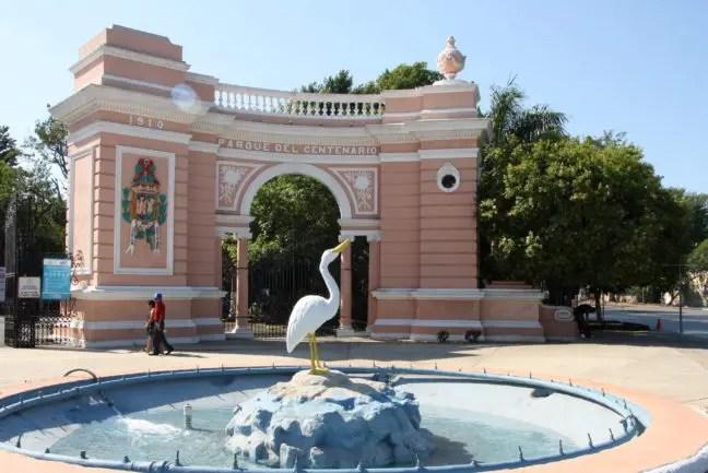 Ingang van het Parque del Centenario