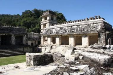 De oude Maya-stad van Palenque