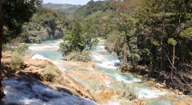 Roberto Barrios watervallen bij Palenque