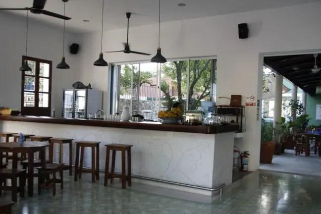 De bar van Yerbabuena in Valladolid.