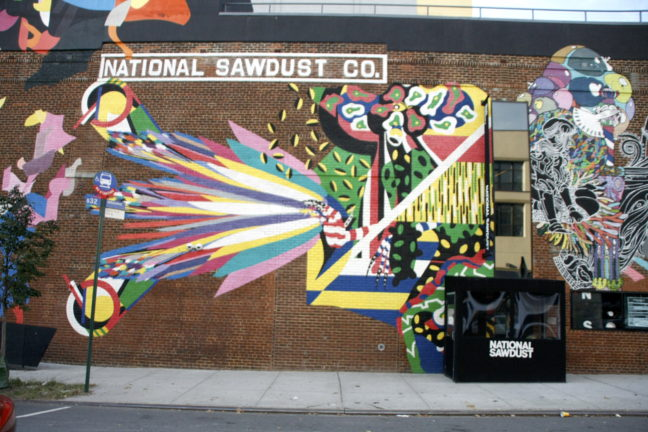 Volop kunst en cultuur in Williamsburg, Brooklyn.