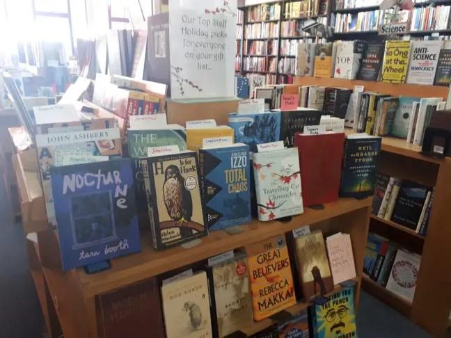 Small World Books aan de Venice Boulevard.
