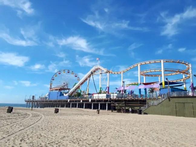 De pier van Santa Monica.