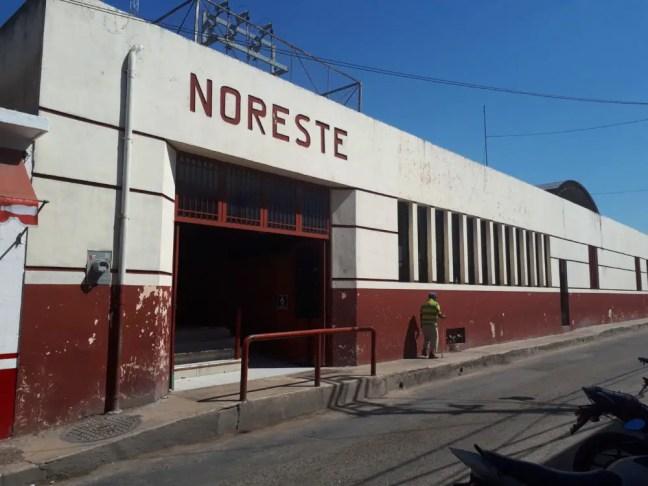 Busstation Noreste in Tizimin.