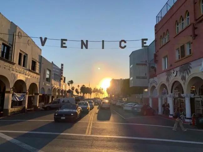 De beroemde Venice letters.