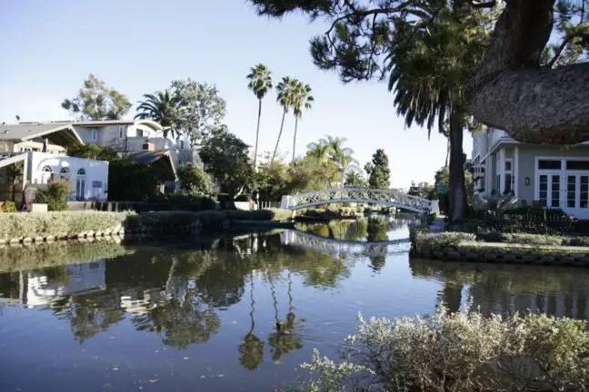 The Venice Canals: nét Venetië