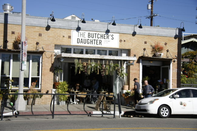 The Butcher's Daughter in Venice, Los Angeles.